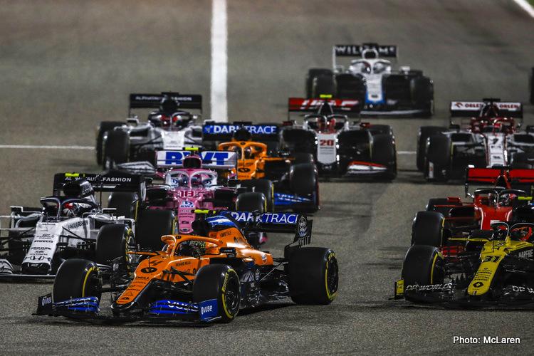 McLaren, 2020 Bahrain Grand Prix