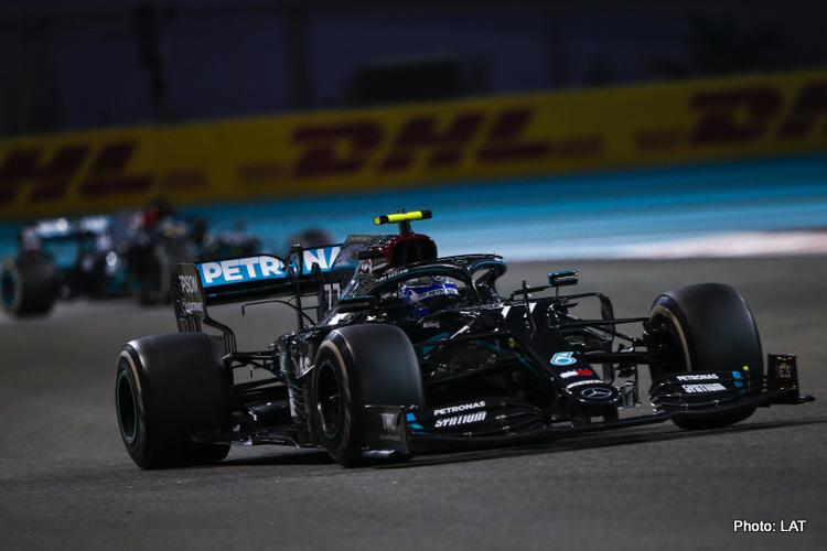 Valtteri Bottas, Mercedes, 2020 Abu Dhabi Grand Prix
