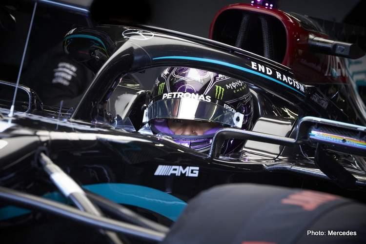 hamilton cockpit Mercedes