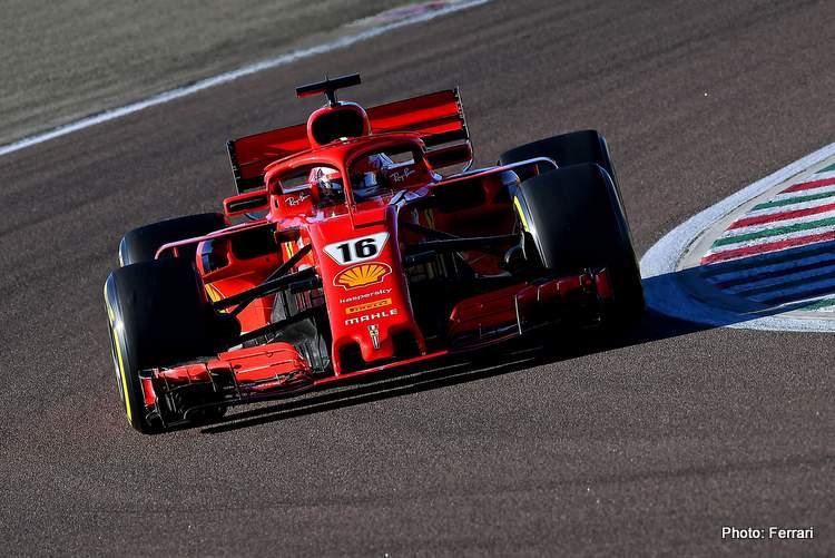 F1 TEST FIORANO - MARTEDì 26/01/21 - CHARLES LECLERC credit: @Scuderia Ferrari Press Office