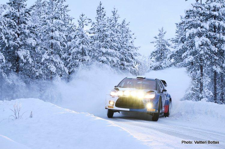 Valtteri Bottas Arctic Rally