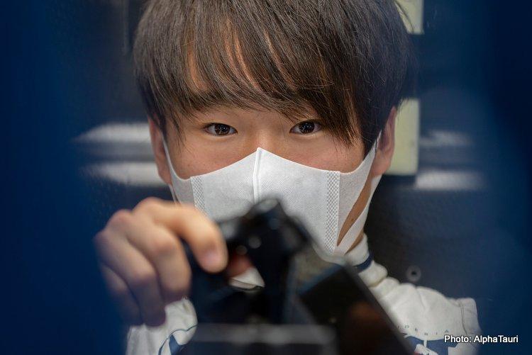 honda yuki tsunoda f1 formula 1 formula one