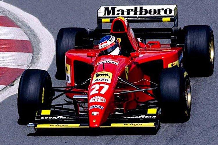 Jean Alesi formula 1 formula one f1