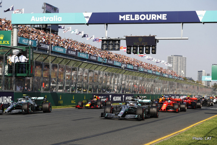 2019 Australian Grand Prix, Sunday - LAT Images
