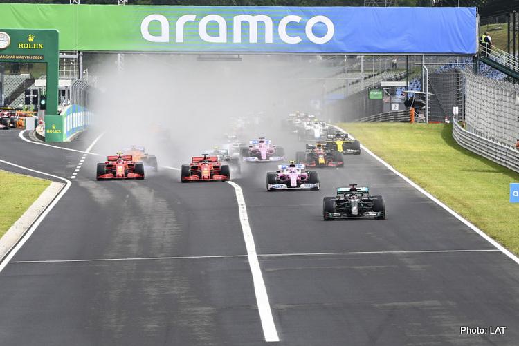 f1 formula 1 formula one 2020 Hungarian Grand Prix