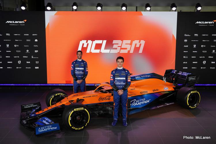 McLaren ricciardo norris