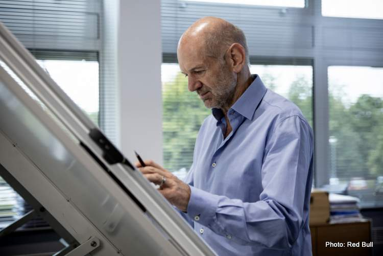 Adrian Newey seen at the Red Bull Racing Factory in Milton Keynes, United Kingdom, 2020 // Thomas Butler / Red Bull Content Pool // SI202005150130 // Usage for editorial use only //