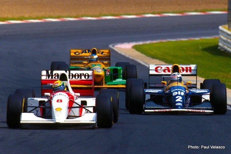 Senna-Prost-Schumacher-at-Kyalami south africa