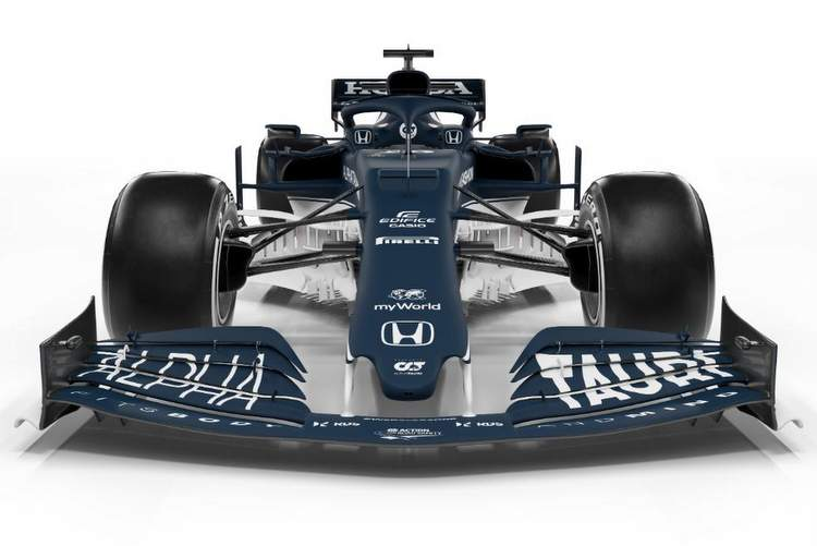 alphatauri at02 new Formula 1 car 2021 studio reveal launch