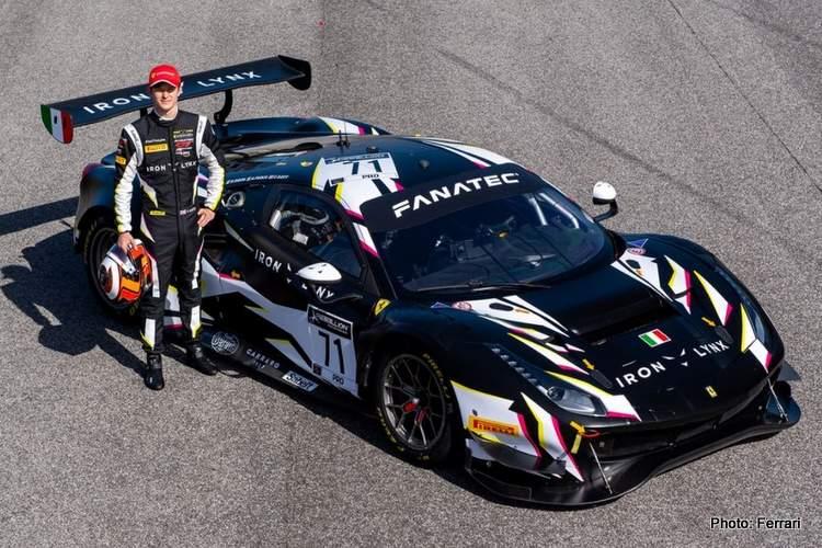 Ferrari GT3 Callum Illot