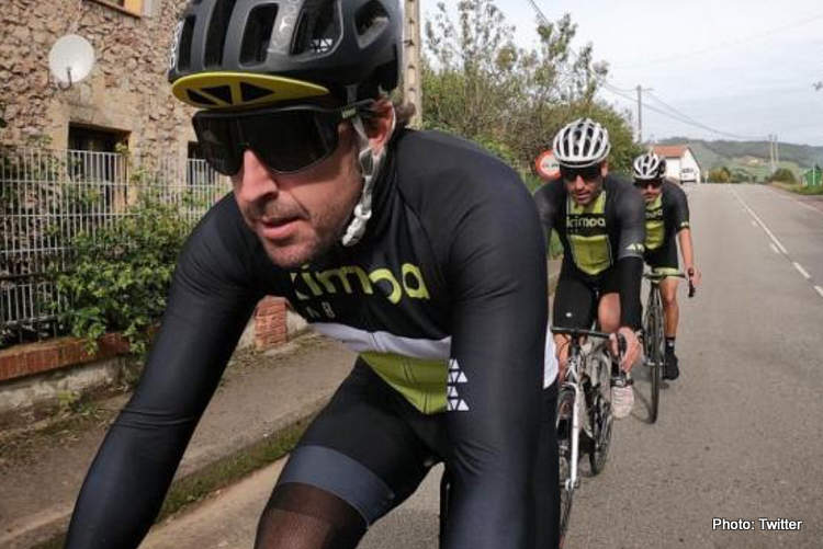 fernando alosno bicycle accident cycling crash fall hospital