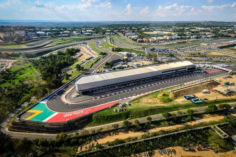 aerial view kyalami south africa grand prix future