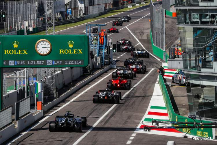 f1 2020 Italian GP