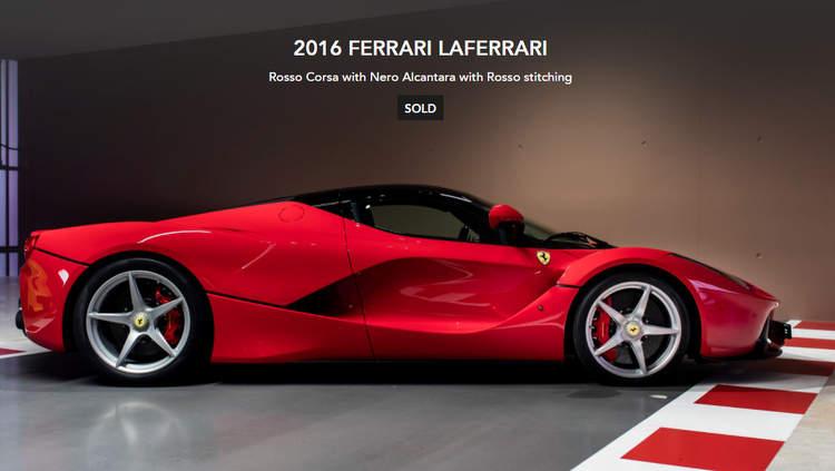 Report Sebastian Vettel Puts Eight Supercars Up For Sale
