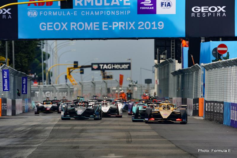 2019 Rome E-prix formula e