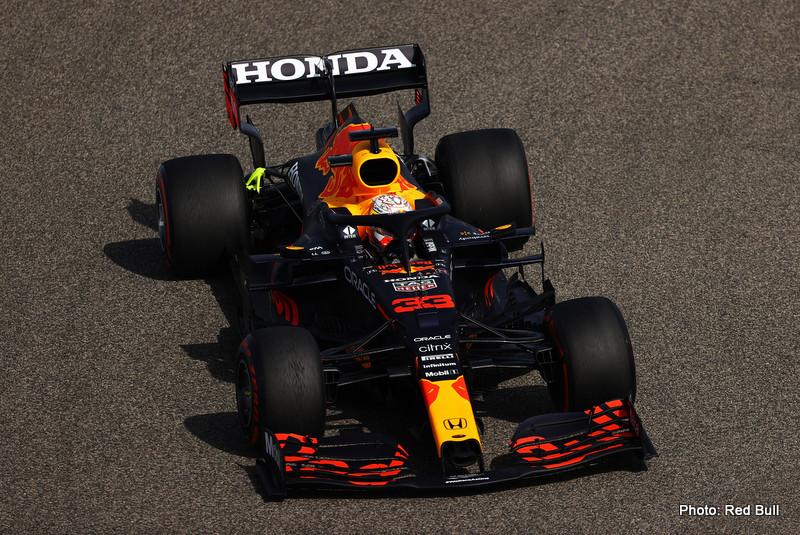verstappen F1 Grand Prix of Bahrain - Practice