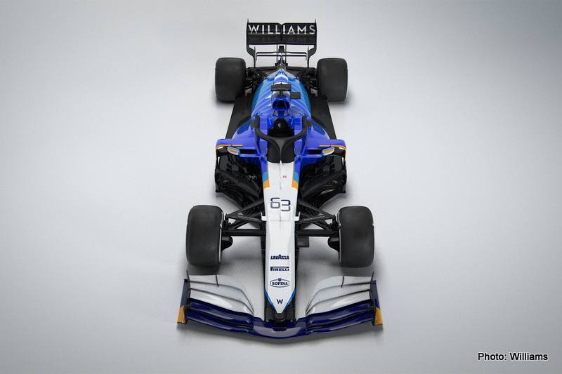 russell Williams Racing FW43B - 2021 Car Launch, Grove, Oxfordshire, UK