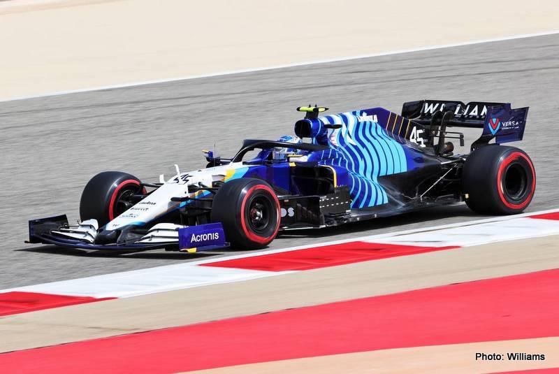 Formula One Testing, Friday 12th March 2021. Sakhir, Bahrain.