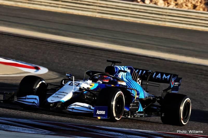 williams Motor Racing - Formula One Testing - Day Three - Sakhir, Bahrain
