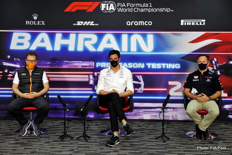 Formula 1 bosses Wolff Horner