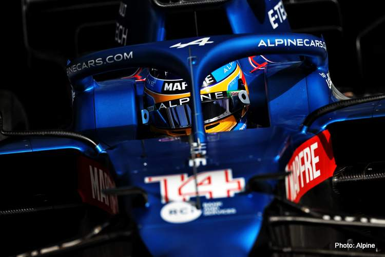 Fernando Alonso Alpine F1 Team