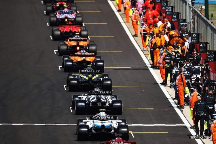 formula 1 grid sprint race plans