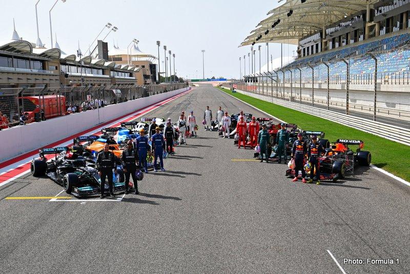 testing gasly formula 1 grid