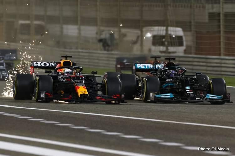 hamilton verstappen battle of bahrain 2021