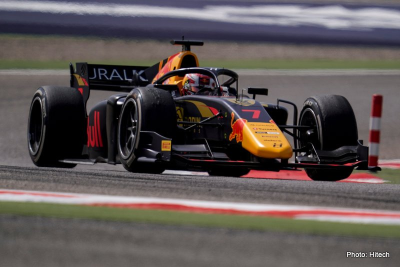 lawson f2 hitech bahrain sprint 1