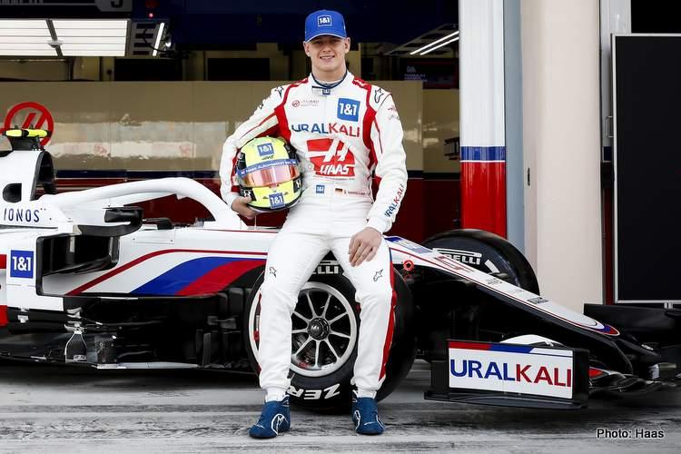 mick schumacher 2021 Haas F1