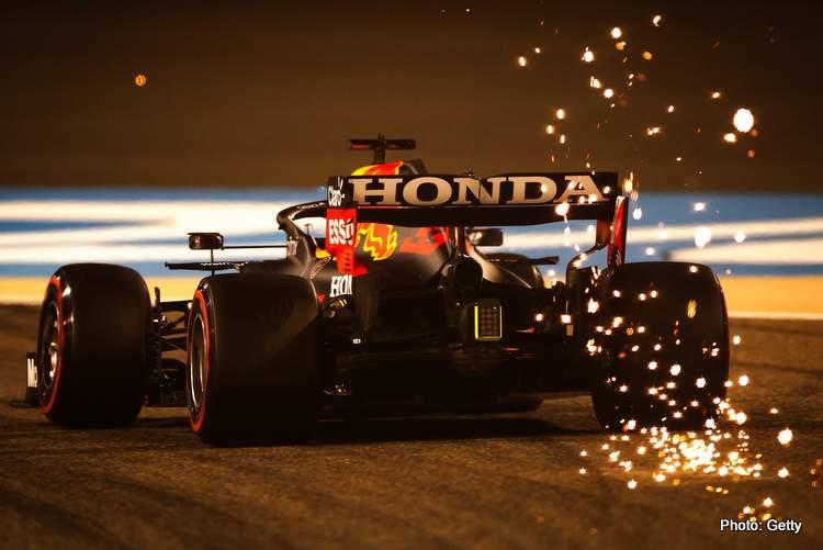 bahrain 2021 F1 max verstappen red bull honda