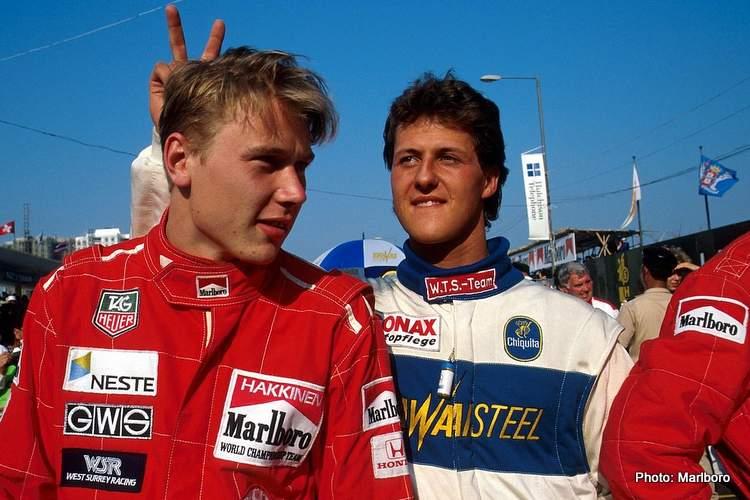schumacher hakkinen F3 rivalry
