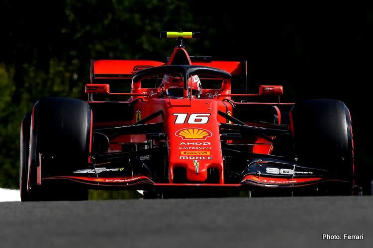 Charles Leclerc Belghian Grand Prix 2019 Ferrari