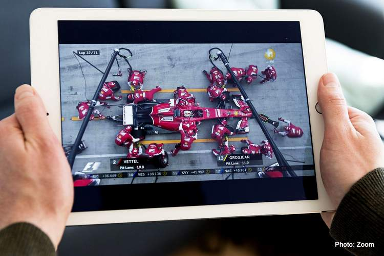 Formula 1 and Zoom Announce First Virtual Paddock Club Partnership
