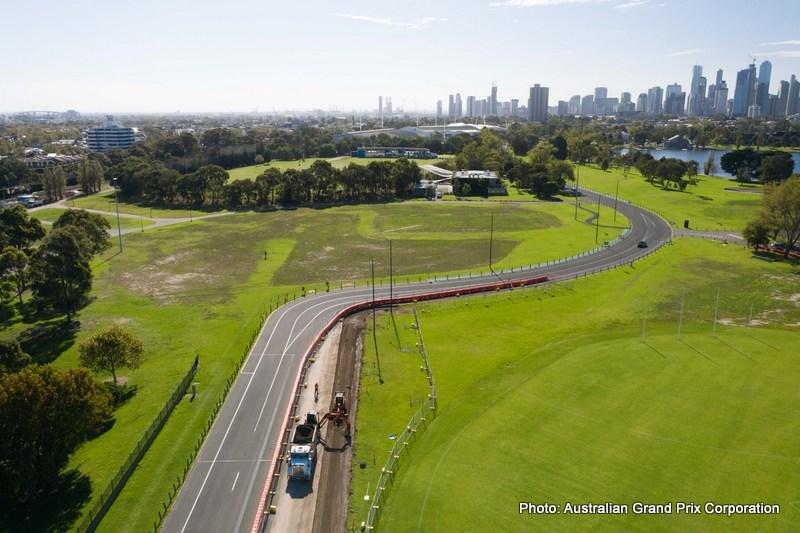 Australian Grand Prix Turn 1