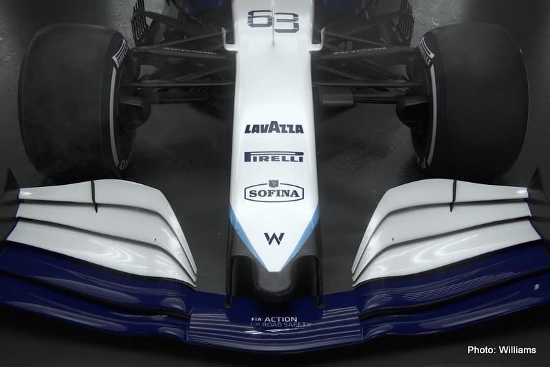 F1 Williams Racing FW43B - 2021 Car Launch, Grove, Oxfordshire, UK