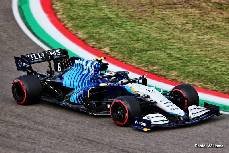 Russell Nicholas Latifi (CDN) Williams Racing FW43B.