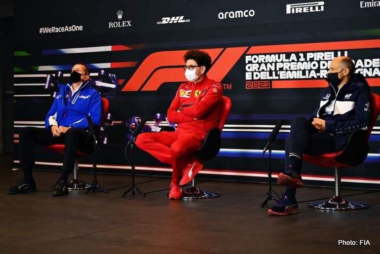 Emilia Romagna Grand Prix binotto steiner tost fia press conference