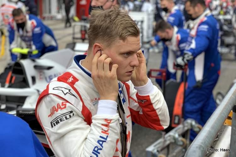 mick schumacher imola restart haas team grid
