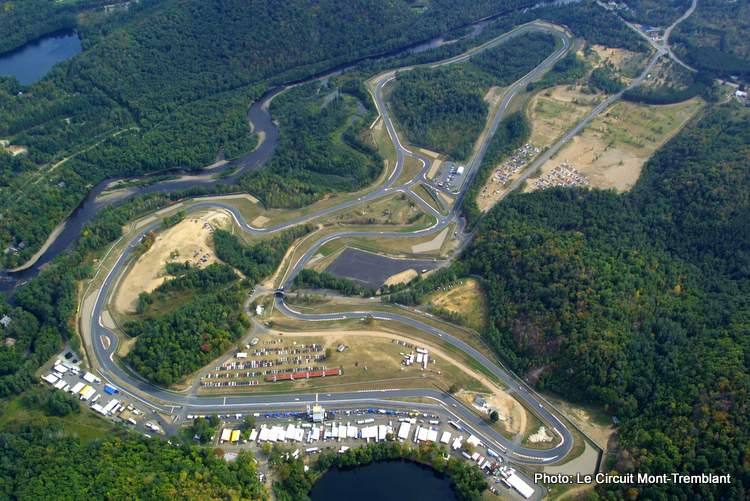 mont tremblant circuit stroll aerial