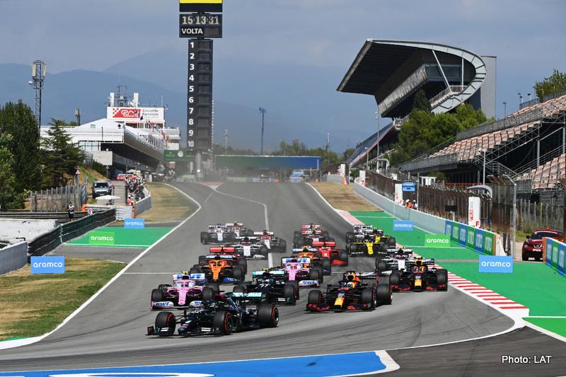 Mercedes 2020 Spanish Grand Prix, Sunday - LAT Images