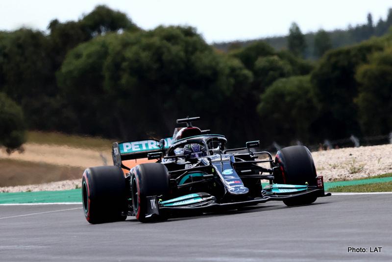 Hamilton 2021 Portuguese Grand Prix, Friday - Steve Etherington
