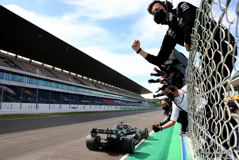 2021 Portuguese Grand Prix, Sunday - Steve Etherington Hamilton