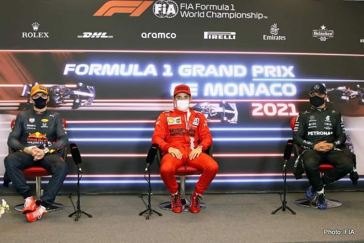 Monaco Grand Prix qualifying press conference