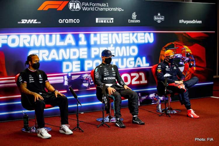 portimao qualifying portuguese grand prix press conference bottas hamilton verstappen red bull