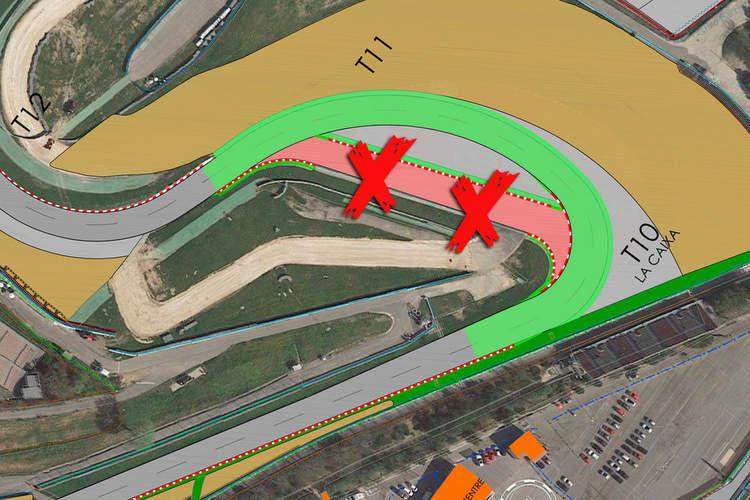 Changements sur le circuit du Grand Prix d'Espagne de Catalogne