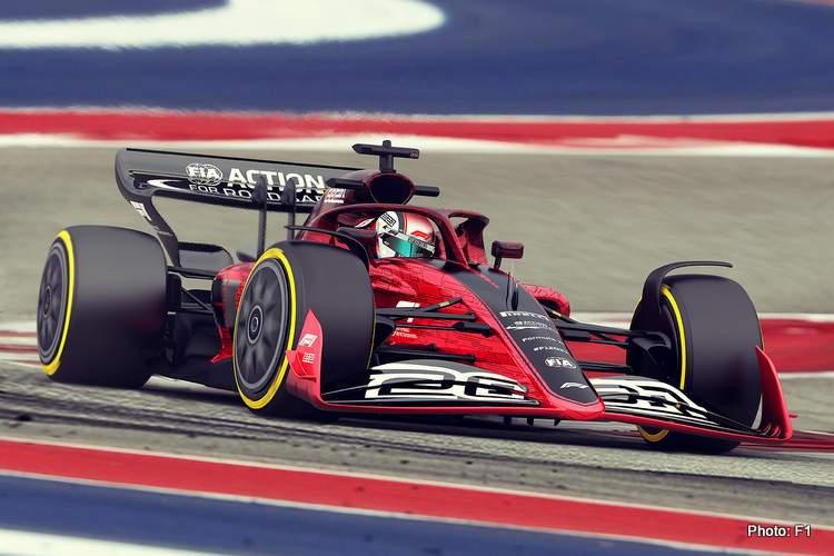f1 2022 formula 1 car render technical