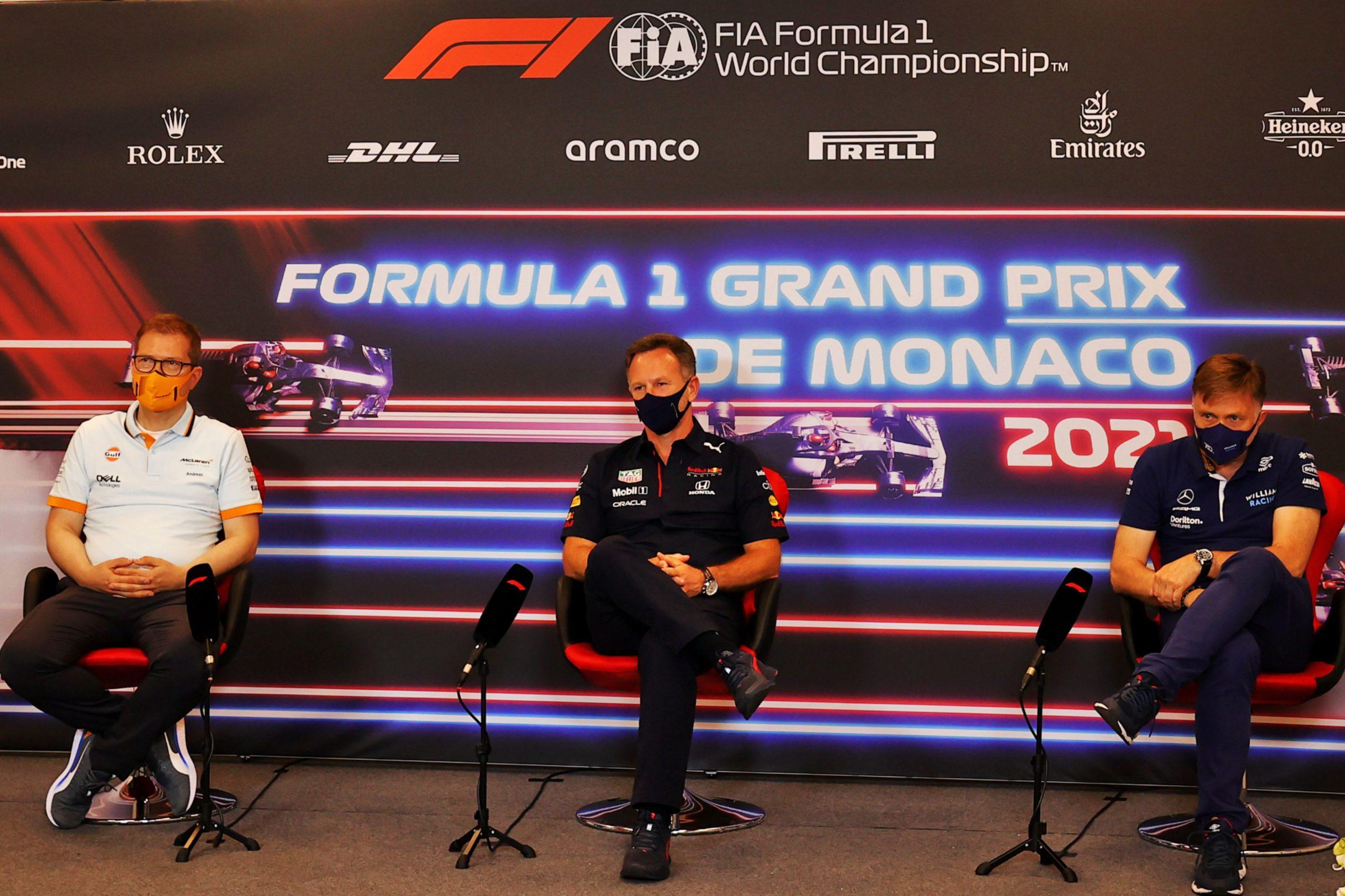 friday press conference FIA