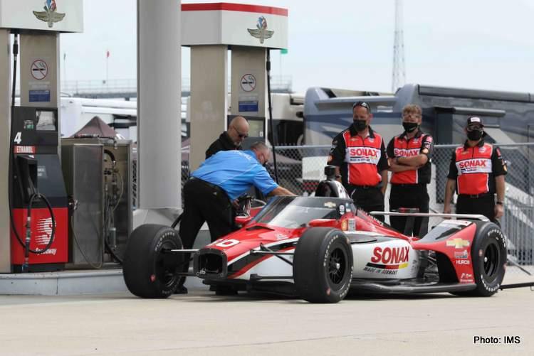 Indycar obtient du carburant pour Indy 500 à Indianapolis