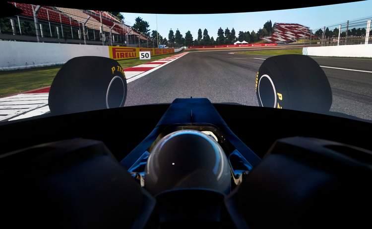 Simulateur Hamilton F1